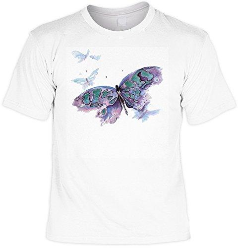 T-Shirt - Wildlife - Schmetterling - USA Shirt mit Motiv als Geschenk für Tier Fans