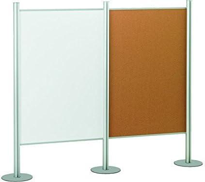 Faibo 480014 - Tablero de corcho con marco de aluminio, 100 x 150 cm: Amazon.es: Oficina y papelería
