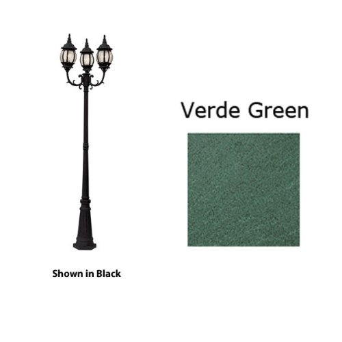 French Outdoor Lamp Posts - 4