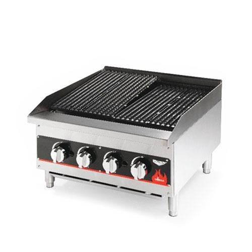 Vollrath - 407302 - 24 in Cayenne Medium Duty Gas Charbroiler by Vollrath
