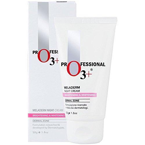 Intensive Skin Lightening Cream (SARA O3+ Dermal Zone Meladerm Intensive Skin Whitening Night Care Cream (50 ML))