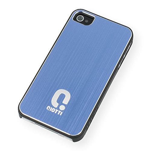QIOTTI Q. à Alu snapcase Coque pour iPhone 4/4S–bleu
