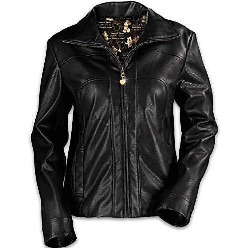 (Bradford Exchange Women's Timeless Disney Women's Jacket (3X) Black )
