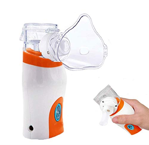 Portable Steam Inhaler,Personal Vaporizer,Handheld Ultrasonic Cool Mist Humidifier for Kids & Adults Travel and Household Use (Ultrasonic Steam Humidifier)