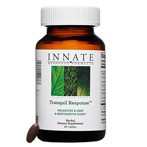 (INNATE Response Formulas - Tranquil Response, Promotes Restful Sleep and Aids in Stress Reduction, with Valerian Root and Ashwagandha, 60 Tablets)