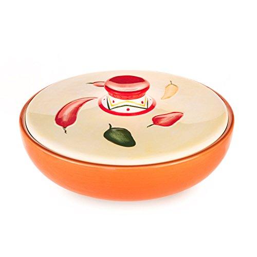 Ceramic Tortilla Warmer by Solomundi, Pancake and Tortilla warmer / keeper