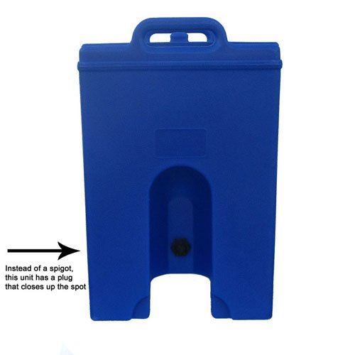 Cambro Camtainer 10 Gallon Beverage Dispenser with Plug, Hot Red (1000LCDPL158) Category: Food -