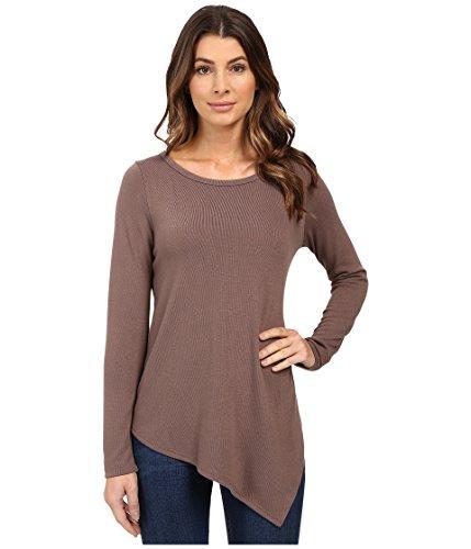 karen-kane-long-sleeve-angled-hem-top-mushroom-womens-long-sleeve-pullover