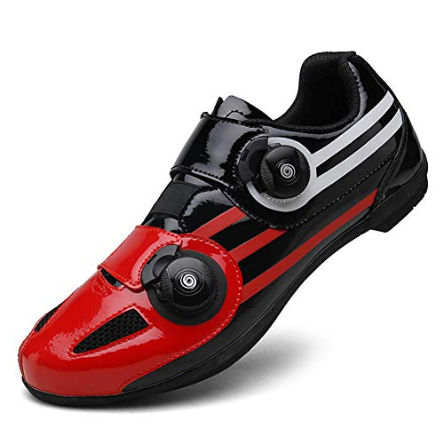 Cycling Shoes for Men and Women, Leisure Non-Slip wear Non-Lock Assisting Cycling Shoes, Outdoor Cycling Couple Sneakers/Mountain/Road Bike ()