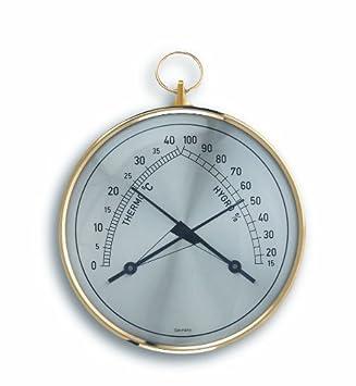 TFA Dostmann Klimatherm Analoges Thermo-Hygrometer, Kontrolle der ...