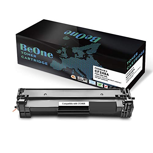 BeOne Compatible Toner Cartridge Replacement for HP 48A CF248A (1-Black) Laserjet Pro MFP M15w M15a M16w M16a M28w M28a M29w M29a Printer ()