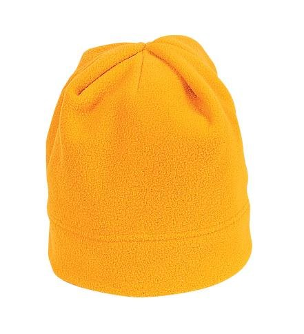 (Port Authority Men's R Tek Stretch Fleece Beanie OSFA Athletic Gold)