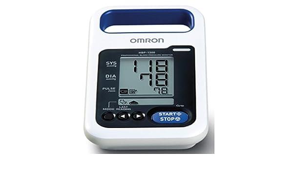 Tensiómetro electrónico Omron HBP 1300: Amazon.es: Salud y cuidado personal