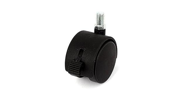 eDealMax 10mm roscado 2 pulgadas de diámetro de la rueda rotación de 360 grados de bloqueo roldana de Freno: Amazon.com: Industrial & Scientific