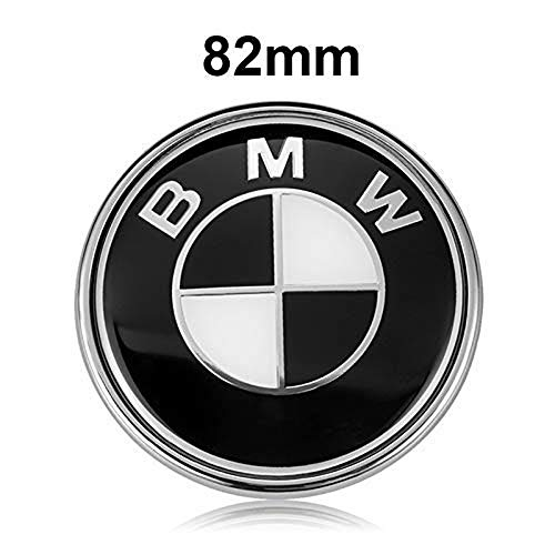 BMW Emblems Hood/Trunk, Black BMW Logo Replacement for sale  Delivered anywhere in USA