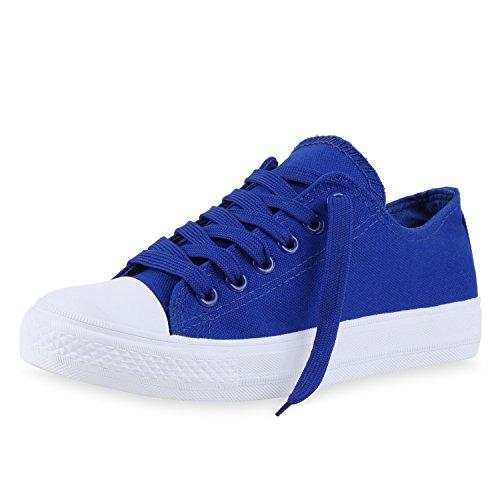 Best-botas para mujer zapatilla zapatillas zapatos de cordones estilo deportivo Blau Neu Nuovo