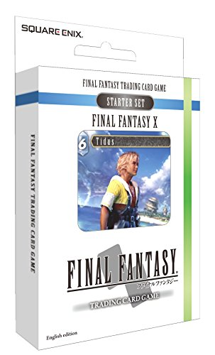 Square Enix Final Fantasy 10 X Starter Set Final Fantasy Trading Card Game