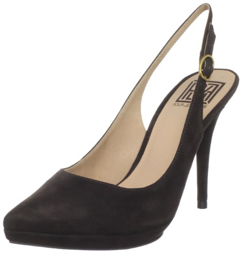 chocolate brown pumps - 3