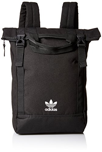 adidas Women's Originals Tote Pack, Black/Chalk White, One Size