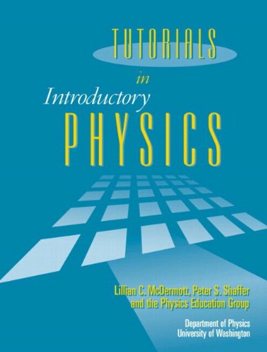 Tutorials In Introductory Physics and Homework Package