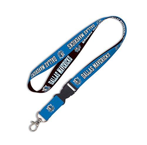 fan products of NBA Dallas Mavericks Lanyard with Detachable Buckle, 3/4