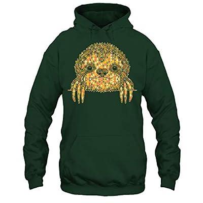 Addblue Sloth T Shirt - Sloth Geometric Tee Shirt - Sloth T-Shirts
