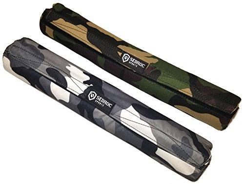Sedroc Sports GEL Barbell Pad Squat Bar Weight Lifting Neck Shoulder Cushion (Gray (Ss Training Pads)