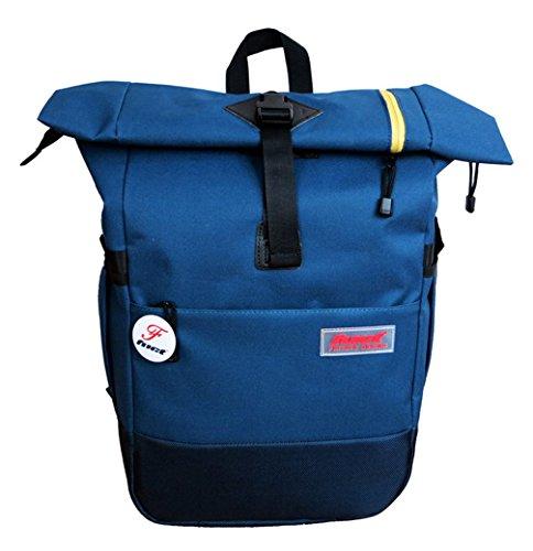 Leinwand Cool Damen accessories hohe Qualität Einfache Tasche Schultertasche Freizeitrucksack Tasche Rucksäcke Tiefblau Keshi 83aOJSy