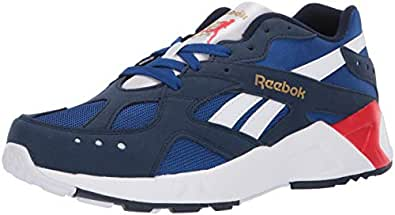 Reebok Unisex-Adult AZTREK Sneaker Collegiate Navy/Royal 8 M US