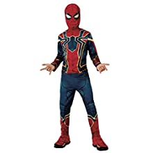 Rubie's Disfraz Avengers Official Iron Spider, Spiderman Classic, Talla S, 3-4 anos, altura 117 cm (700659_S)