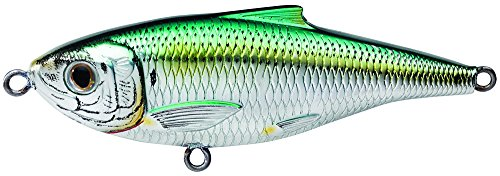 - Koppers Sardine Scaled Salt Water Twitchbait, Silver/Green, 3-Inch, 7/16-Ounce