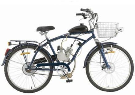 Generic NV_1001005533_YC-UK2 Kit trokeffl rized de Motor CLE B para bicicleta, Motor de Gas Kit con silenciador motorizado F para 80 cc 2 tiempos, ciclismo.: Amazon.es: Electrónica