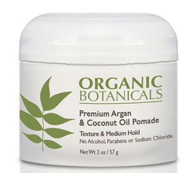 Organics Pomade (Organic Botanicals Argan and Coconut Oil Pomade, 2 Ounce)
