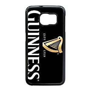 Samsung Galaxy S6 Edge Cell Phone Case Black GUINNESS Plastic Durable Cover Cases NYTY220655