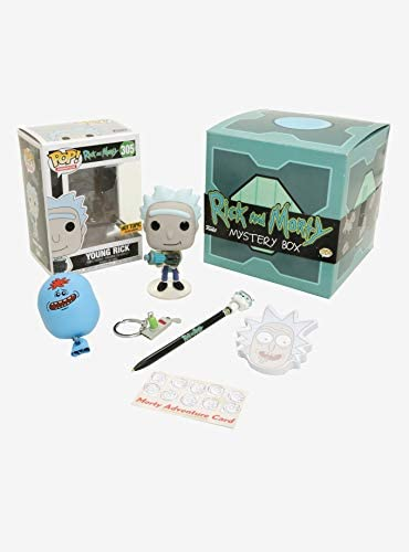 Rick and Morty Funko Pop - Caja de Misterio, diseño de Rick Joven: Amazon.es: Deportes y aire libre