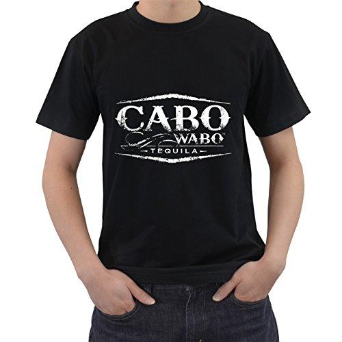 (Cabo Wabo T-Shirt Short Sleeve Black Size M)