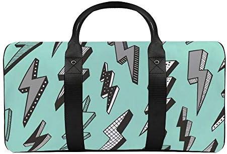 ボルトミント1 旅行バッグナイロンハンドバッグ大容量軽量多機能荷物ポーチフィットネスバッグユニセックス旅行ビジネス通勤旅行スーツケースポーチ収納バッグ