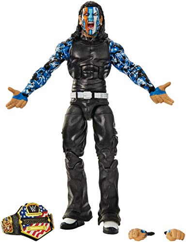Mattel WWE Jeff Hardy Elite Collection Action Figure, Multicolor