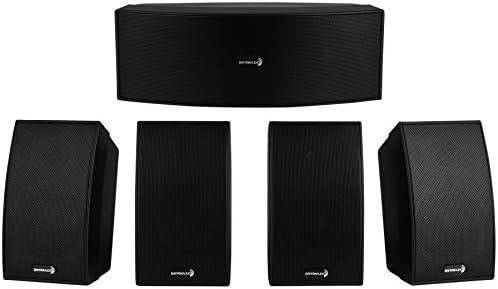 Dayton Audio HTS-1200B Home Theater Speaker System Black