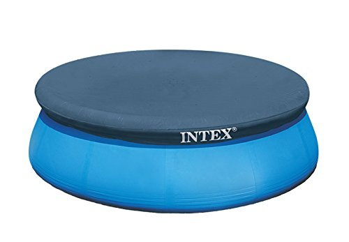 (10-Foot Round Easy Set Pool Cover by Intex )