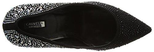 Carvela Women's Gretal Np Closed-Toe Heels Black (Black/Comb) XNKKoV9