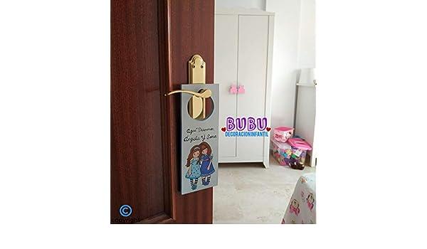 Colgadores infantiles personalizados para decoración de puerta: Amazon.es: Handmade