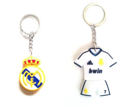 Real Madrid CF & Cristiano Ronaldo #7 Home Jersey - Kaka Real Madrid