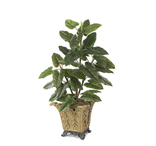 Autograph Foliages P-3456 4 ft. Emerald Philodendron Plant, Green -