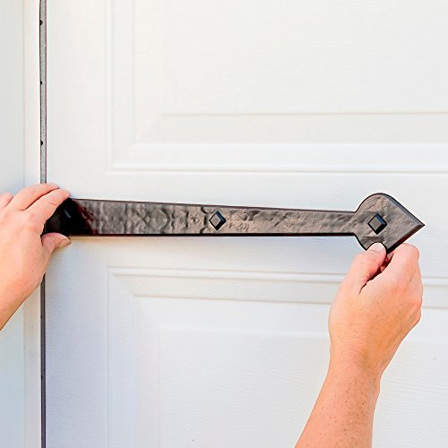 Creative Hardware 480-07 Magnetic Garage Door Handle/hinge Decorative Accent Set Aspen (6 Piece) by Cre8tive Hardware (Image #5)