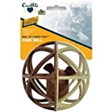 OurPetsPlay-N-Squeak Ball of Furry Fury Squeaking Interactive Cat Toy