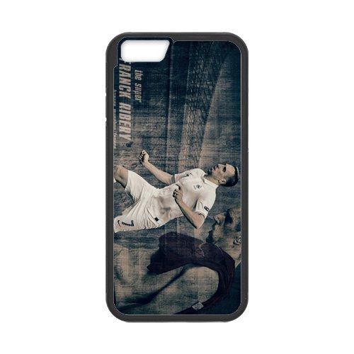Artswow Franck Ribery Polo Shirt Custom Plastic TPU Cell Phone Case for iPhone 6 4.7 Inch