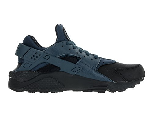 Nike Herren Air Huarache Run Prm Laufschuhe Mehrfarbig (Black/Squadron Blue-Sqdrn Blue)