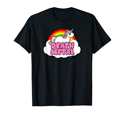 Funny Cute Death Metal Unicorn Rock Music Band Lover -
