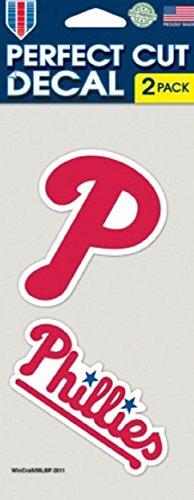 MLB Philadelphia Phillies 4-by-8 Die Cut Decal